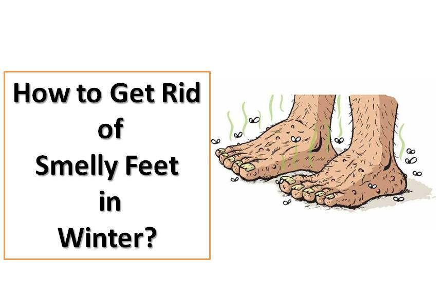 How to Get Rid of Smelly Feet in Winter?